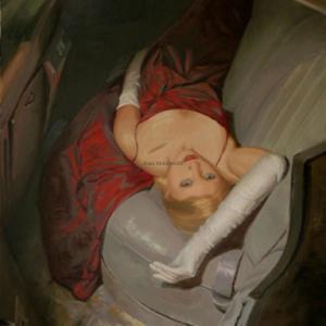 """2:00 A.M."" 40"" x 60"" oil on canvas. NFS."