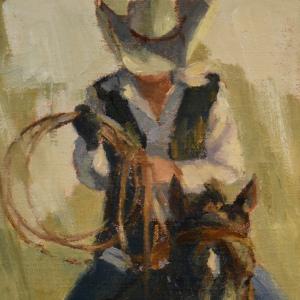 """""""Days End"""" 9"""" x 12"""" oil on canvas. NFS."""
