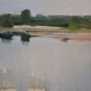"""Schumann's Pond"" 12""x16"" oil on canvas."