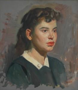 Lajos Markos painting