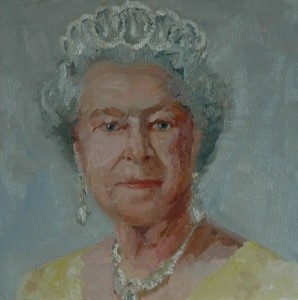 Portrait of Queen Elizabeth II.