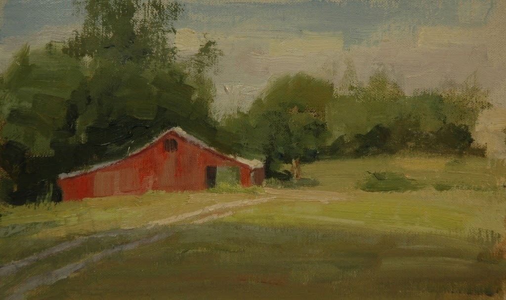 Two day plein air painting trip