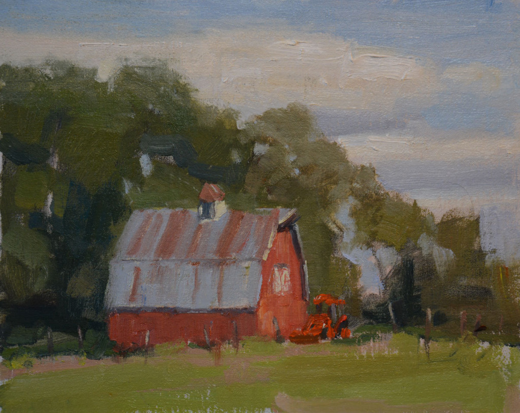 Red Barn Plein Air