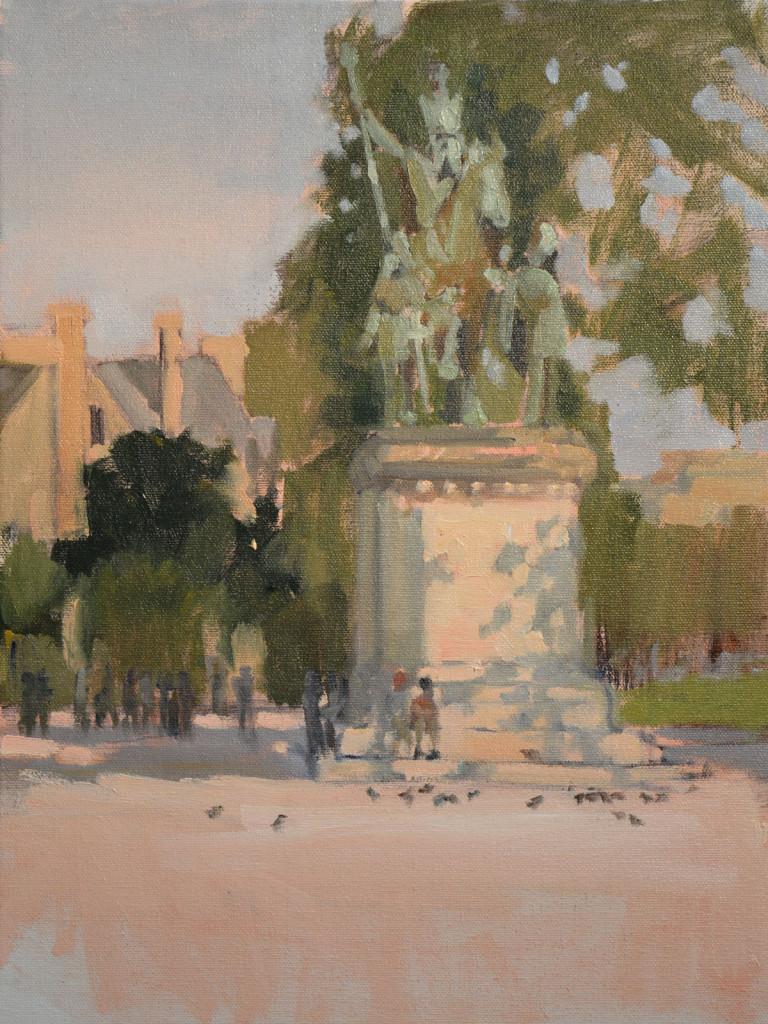 Charlemagne Paris plein air