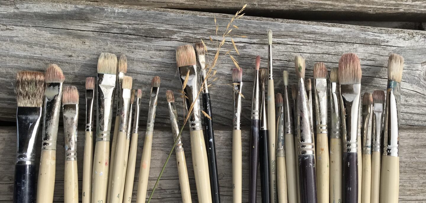 Some of my brushes.