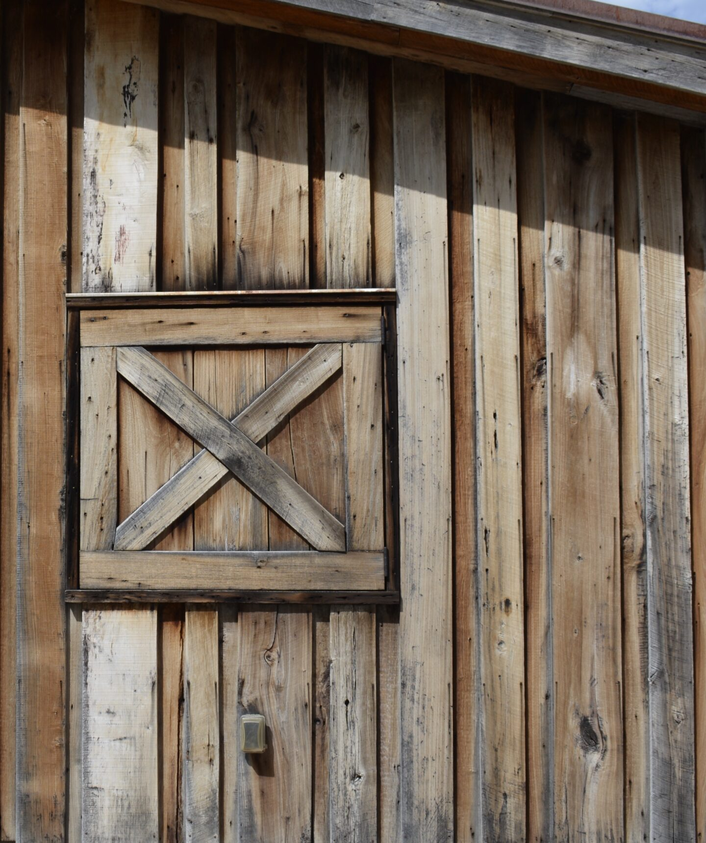 Barn wood at the ranch.