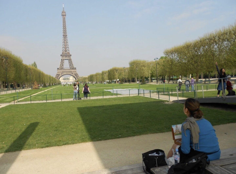 Paris France plein air