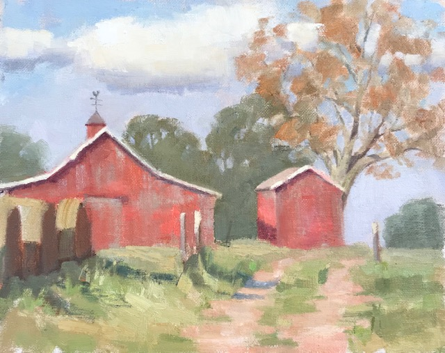 Paint a Red Barn