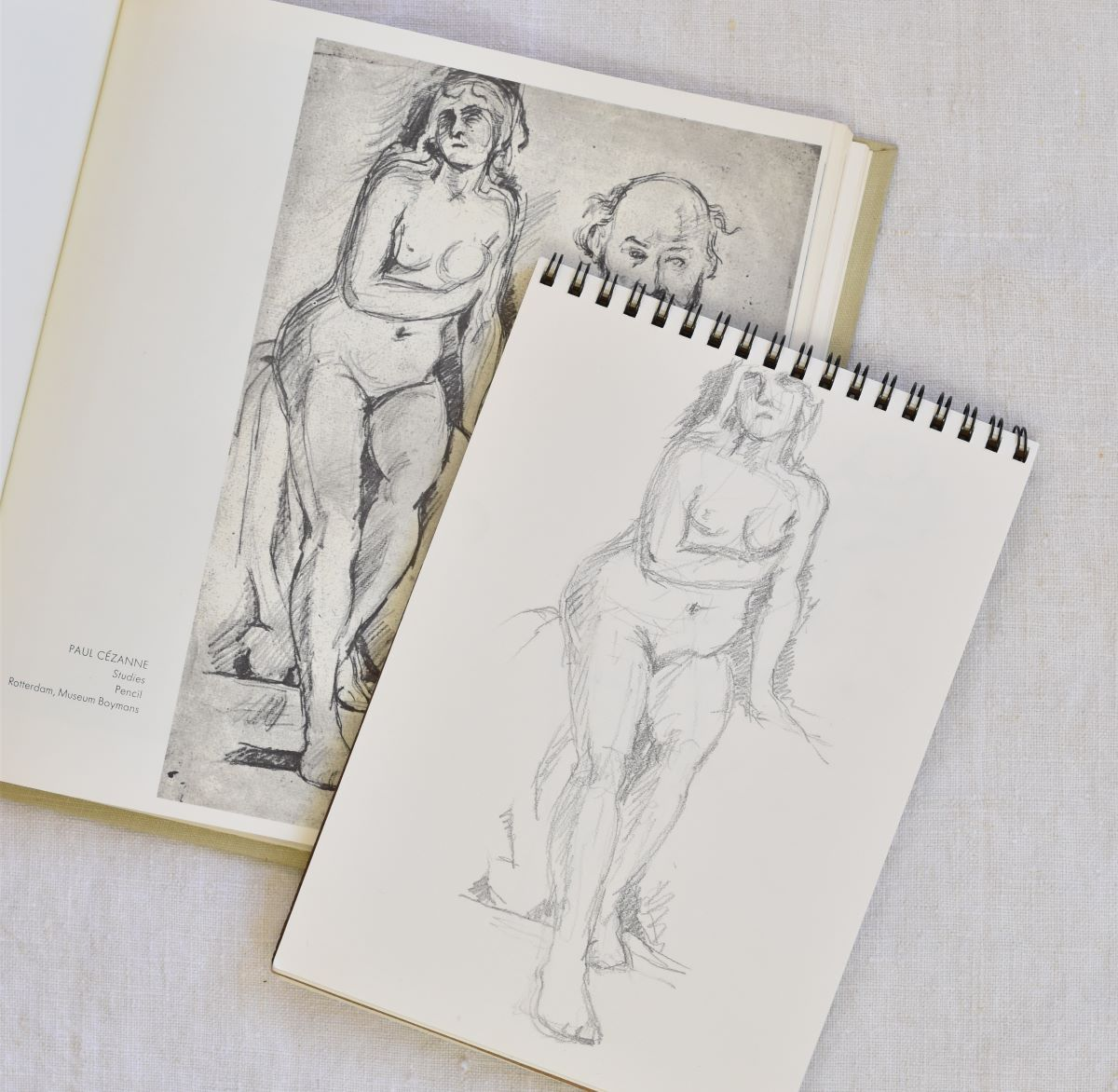 Copy of a Cezanne drawing.