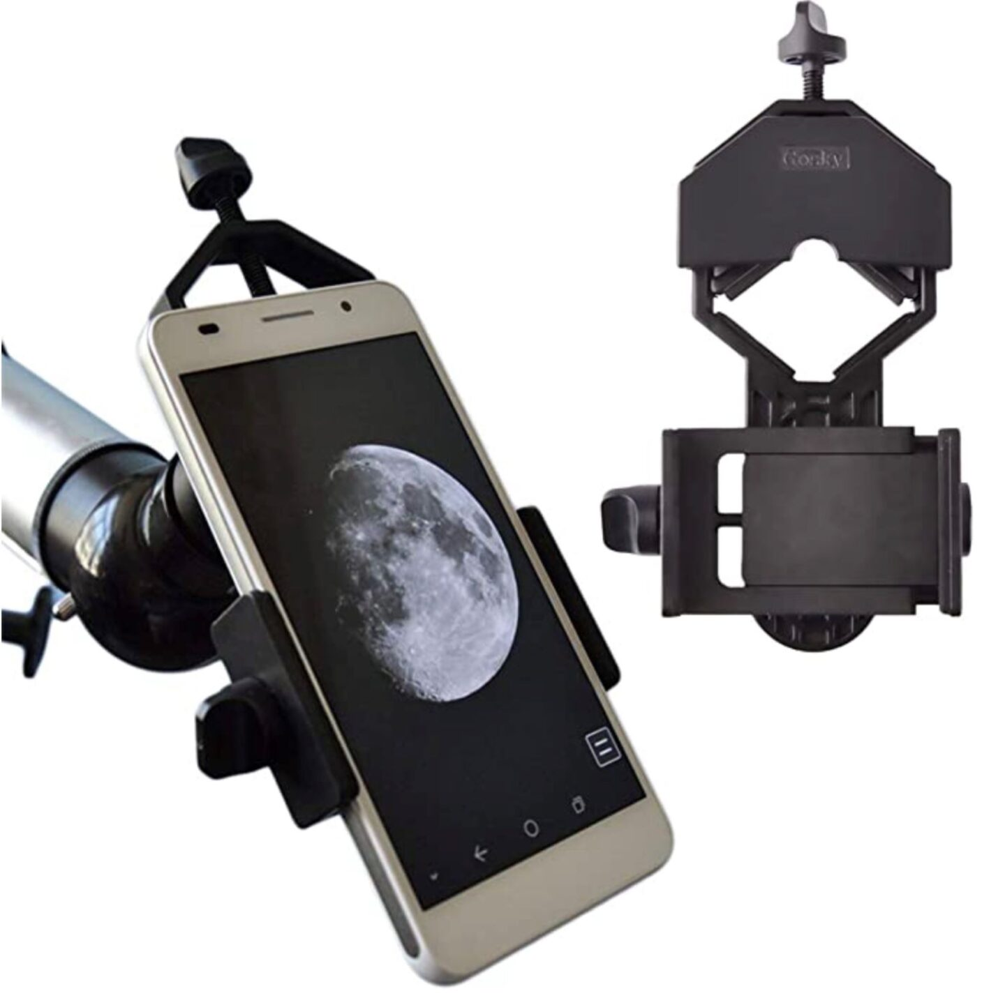 cell phon adapter for spotting scope
